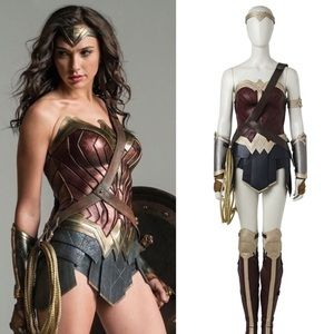 Diana Prince Wonder Woman Deluxe Cosplay Costume